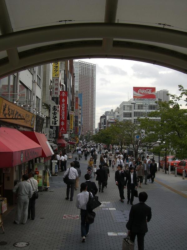 田町駅 芝浦口周辺