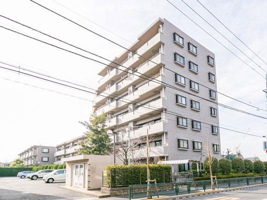 ユニオンパレス吉祥寺北弐番館 概観