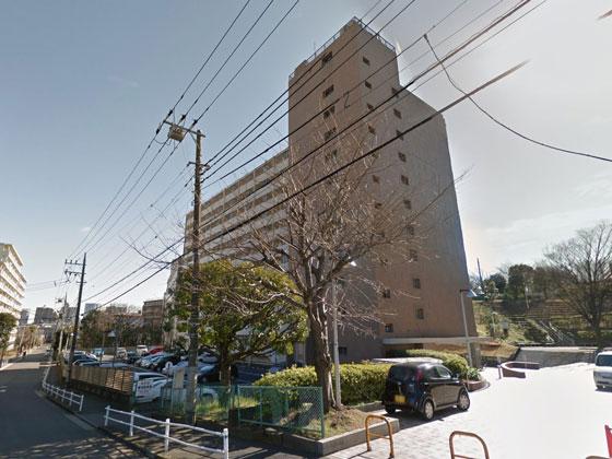 上高田四丁目団地2号棟 概観
