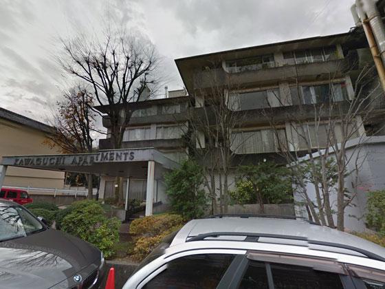 川口アパートメント 概観