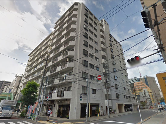 中銀第2東上野マンシオン 概観