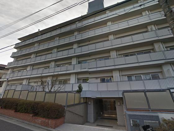 日商岩井弥生町マンション 概観
